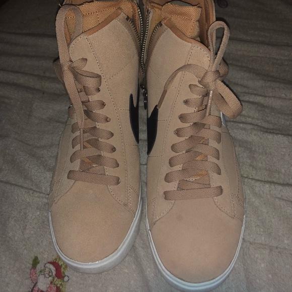 80cdd0cab7d4 Nike Blazer Mid Rebel Women s Shoe 8.5
